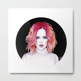 Shirley Manson (Garbage) Metal Print