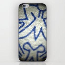 Blue Totem iPhone Skin