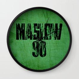 Maslow Jersey Wall Clock