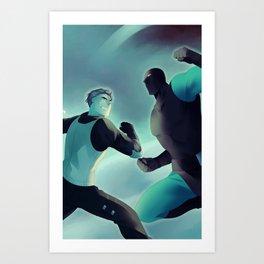 Mutant Kill Squad Anime Poster Art Print