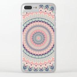 Mandala 515 Clear iPhone Case