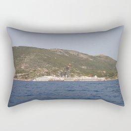 Wreck Of The Costa Concordia Rectangular Pillow