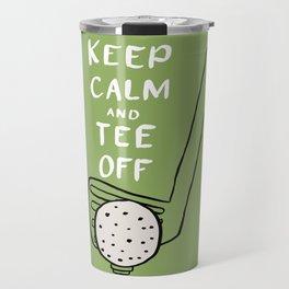 Tee Off Travel Mug