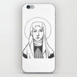 St. Catherine of Siena iPhone Skin