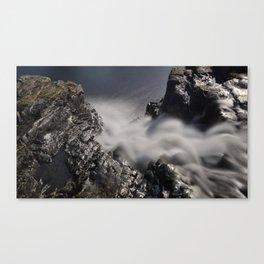 Waterfall Looking Down Canvas Print