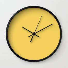 Trendy Basics - Trend Color PRIMEROSE YELLOW Wall Clock