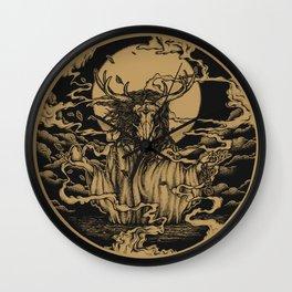 DREAMTIME - GOLD Wall Clock