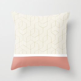 CUATRO Throw Pillow