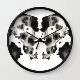 Rorschach No. 2 Wall Clock