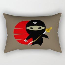 Ninja Star - Dark version Rectangular Pillow