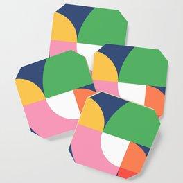 Abstract Geometric 15 Coaster