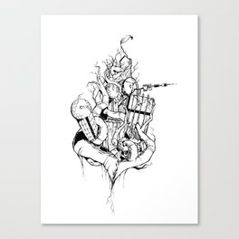 Abandoned Teufelsberg Canvas Print