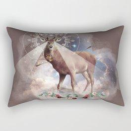 In Deer we trust Rectangular Pillow