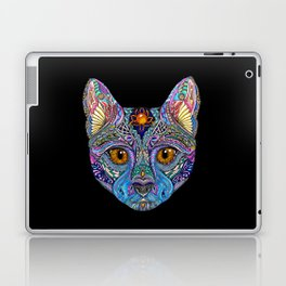 Mystic Psychedelic Cat Laptop & iPad Skin