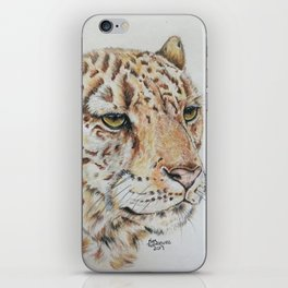 Leopard Eyes iPhone Skin