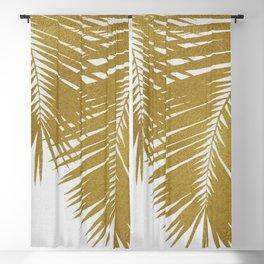 Palm Leaf Gold II Blackout Curtain