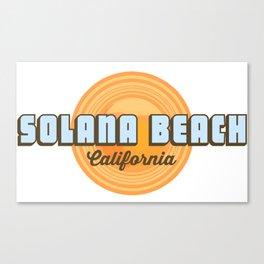 Solana Beach. Canvas Print