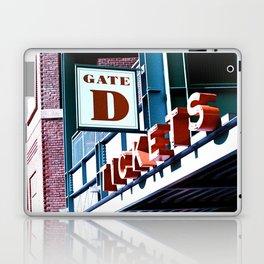 Fenway Gate D Tickets Laptop & iPad Skin
