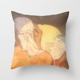 Blanc Throw Pillow