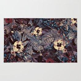 dark flowers #flower #flowers Rug
