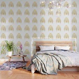 Gold Rib Cage Wallpaper