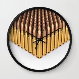 Ammunition Wall Clock