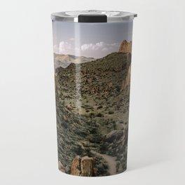 Balanced Rock Valley View in Big Bend - Landscape Photography Travel Mug