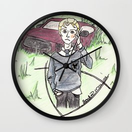 The Smudgy One Wall Clock
