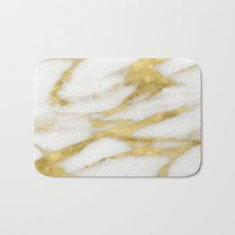 Bari golden marble Bath Mat