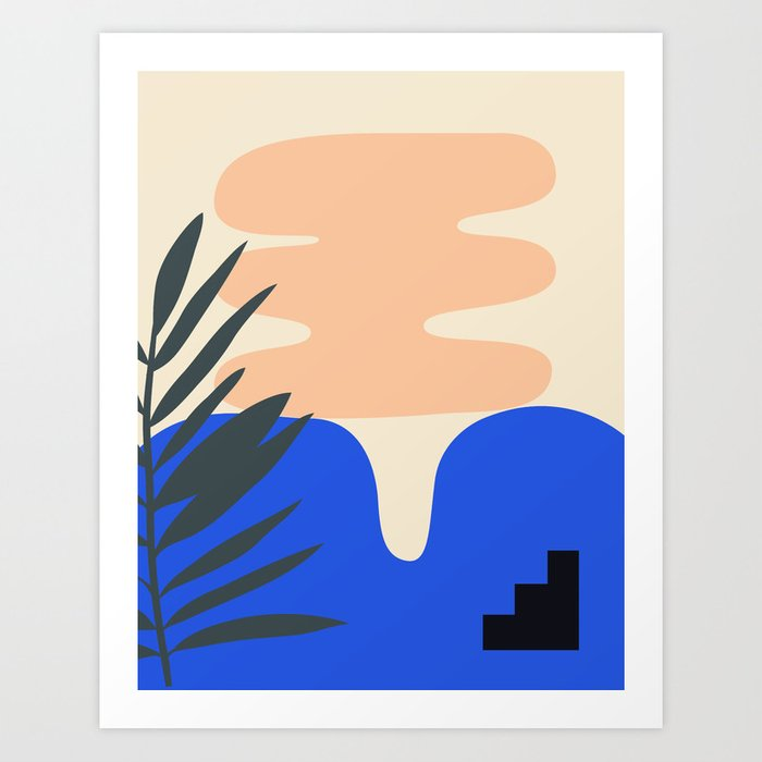 Shape study #14 - Stackable Collection Art Print