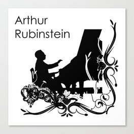 Arthur Rubinstein Canvas Print