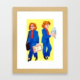 scullay Framed Art Print