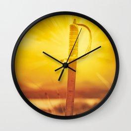 The Magic Sword Wall Clock