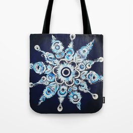 Snowflake in Petrykivka style Tote Bag