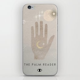 The Palm Reader iPhone Skin
