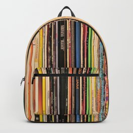 Alternative Rock Vinyl Records Backpack