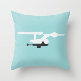 Space Seed Throw Pillow
