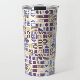 Diverse retro doodle Travel Mug
