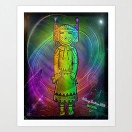 Kachina Art Print