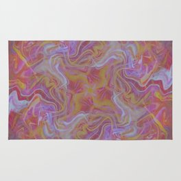 Fluid Abstract 16; Electric Shock Rug