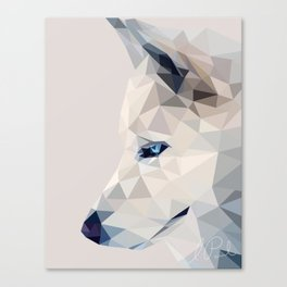 Winter, the Wolf Canvas Print
