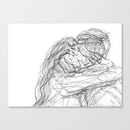make-out? (B & W) Canvas Print