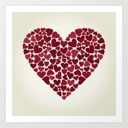 Love9 Art Print