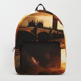 london reflections Backpack