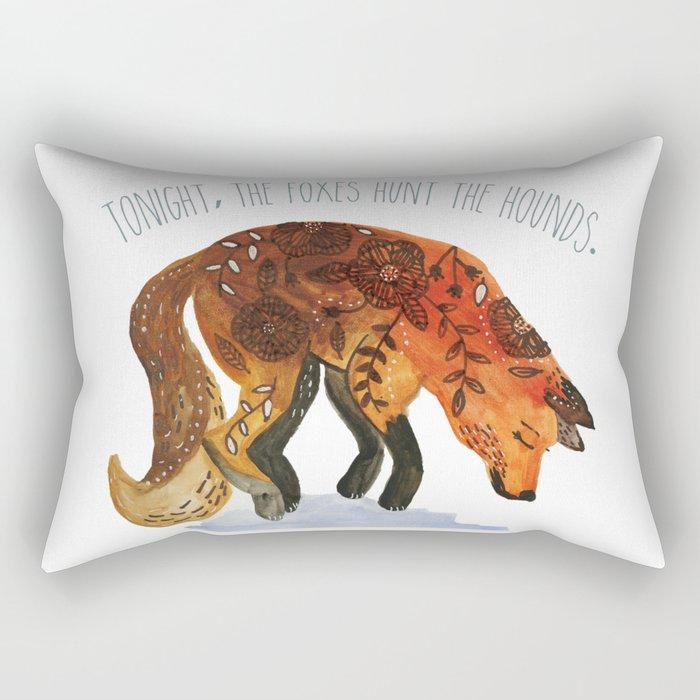 We Are Wild. Rectangular Pillow