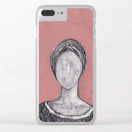 Madame Bovary Clear iPhone Case