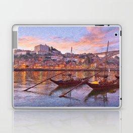 Porto at dusk Laptop & iPad Skin