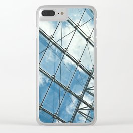 Glass Ceiling VII (Landscape) - Architectural Photography Clear iPhone Case