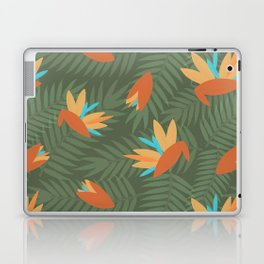 Vintage Florida Birds of Paradise Pattern Laptop & iPad Skin