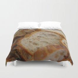 Artisan Bread Slices Duvet Cover
